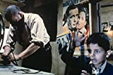Cinema Paradiso Salvatore Cascio Philippe Noiret in Projection Room Casablanca Poster On Wall 18x24 Poster