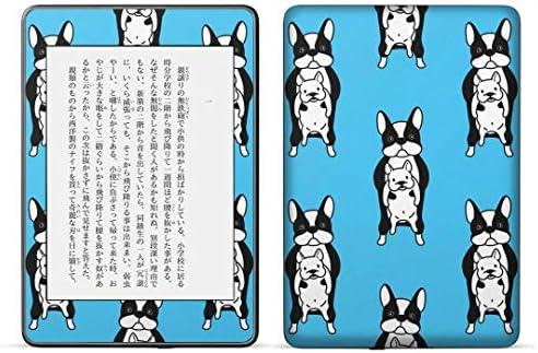igsticker kindle paperwhite 第4世代 専用スキンシール キンドル ペーパーホワイト タブレット 電子書籍 裏表2枚セット カバー 保護 フィルム ステッカー 016447 犬 イラスト 動物