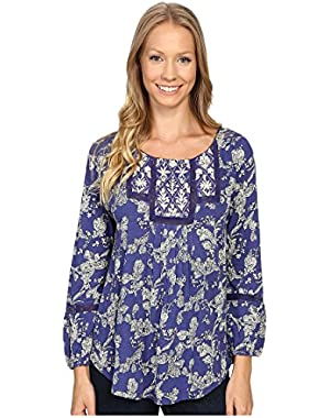 Women's Floral Bib Top