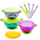 Stay Put Suction Bowl, Baby Bowls for Toddlers with...