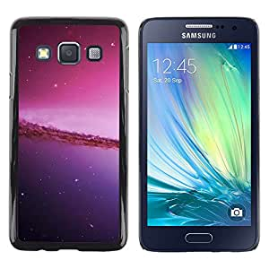 Stuss Case / Funda Carcasa protectora - The Purple Curve - Samsung Galaxy A3