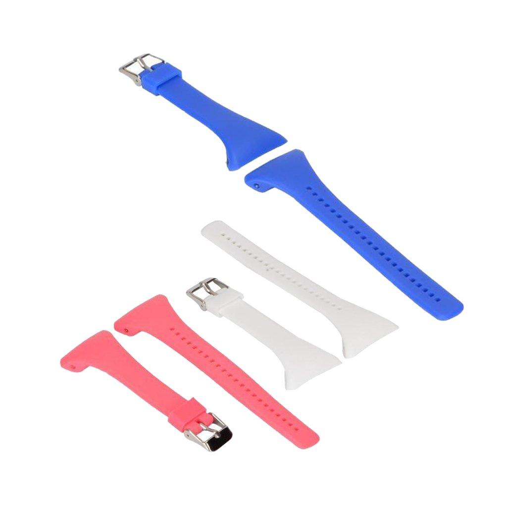 monkeyjack調節可能な腕時計バンドストラップ+メタルバックルfor Polar ft4 ft7 Ft  B0746B9F2S