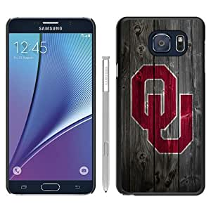 NCAA Big 12 Conference Big12 Football Oklahoma Sooners 6 Black Recommended Picture Custom Samsung Galaxy Note 5 Case