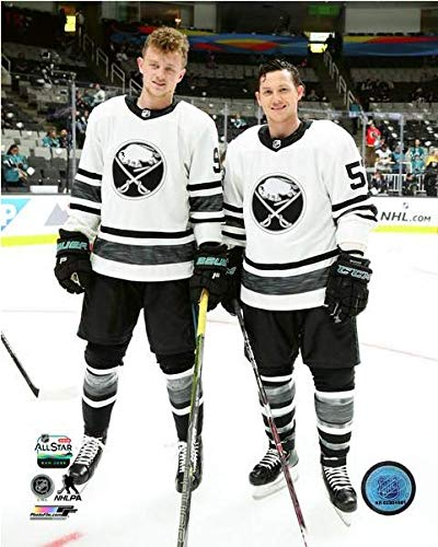 sports shoes f099b 73db7 Amazon.com : Jack Eichel & Jeff Skinner Buffalo Sabres 2019 ...