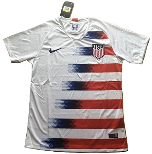 04d248086a3 Simeonka-Hrisy Men s USA National Team 2018-2019 Home Soccer Jersey White  (Men s