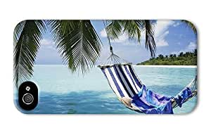 cool iphone 5c case hammock under palms PC 3D for Apple iphone 5c