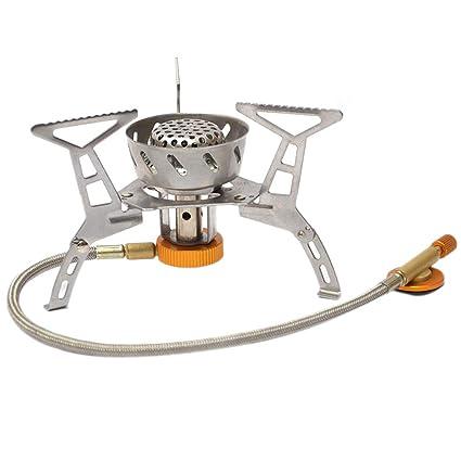 Tenock 3000W Gro/ße Kraft Cooking Stove Campingkocher Aluminium Mini Herd f/ür BBQ Picknick Cookout