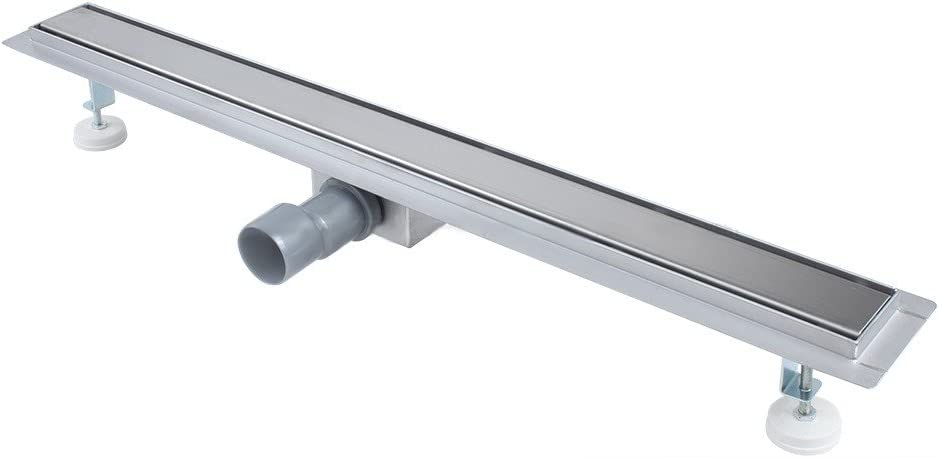 900 mm 800//900 mm Longitudes de canal Ducha Coladores de Desag/üe para ba/ño Desag/üe de ducha