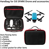 Joint Vcitory Spark Bag Handheld Carry Case Waterproof Hardshell Handbag Portable Travel Suitable for DJI Spark Quadcopter Drone
