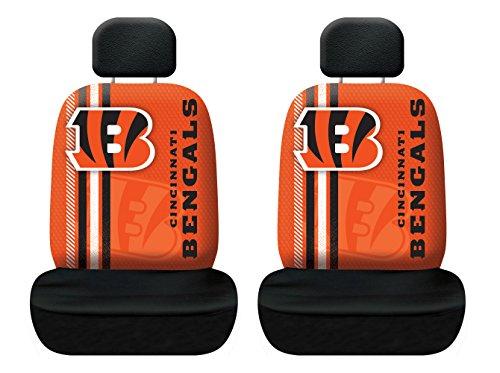 Fremont Die NFL Cincinnati Bengals Rally Seat Cover, One Size, Orange by Fremont Die