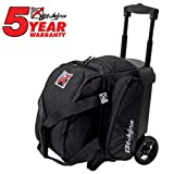 Cheap KR Cruiser Single Roller Bowling Bag- Black ()