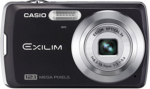 Digital Zoom 2.5 Inch Lcd - Casio Exilim EX-Z35 12 MP Digital Camera with 3x Optical Zoom and 2.5-Inch LCD (Black)