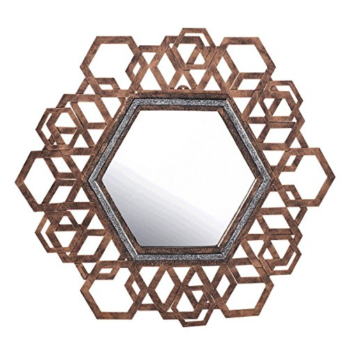 Large Hexagon Mirror - Large Mirror Hexagon