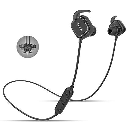 QCY qy12 Bluetooth 4.1 inalámbrico auriculares deporte auriculares con cancelación de ruido/APT-X