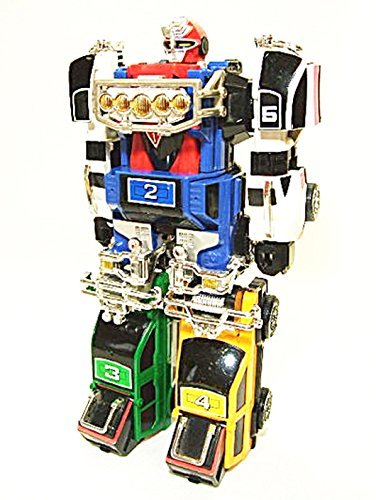 Bandai Power Rangers Turbo Carranger Dx Rv Robo Turbo Megazord