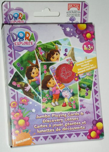 Dora the Explorer Jumbo Playing Cards & Discovery - The Explorer Dora Bicycle