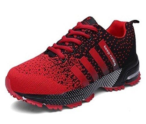 Zapatos Corrientes Para Hombres Zapatos Deportivos Para Mujeres Sneakers Red