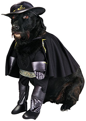 Rubies Costume Company Zorro Pet Costume, Large (Pirate Costumes Footwear)