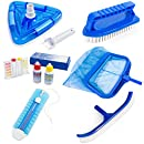 XtremepowerUS 6 Piece Pool Maintenance Kit, Deluxe Package
