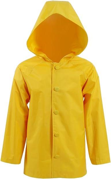 Amazon Com Xiao Maomi Unisex Yellow Raincoat For Adult Kids Cosplay Costume Rainwear Halloween Clothing