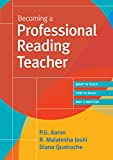 img - for Becoming a Professional Reading Teacher book / textbook / text book