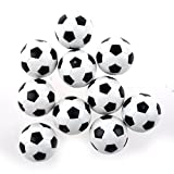 BARGAIN HOUSE Mini Table Footballs Classic Soccer Professional Sports Ball Mini Foam Desktop Football For Desk Sports Games 10 Pieces