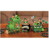 Celebrating Leprechaun Express Train St Patrick's Day Tabletop Home Accent Decoration