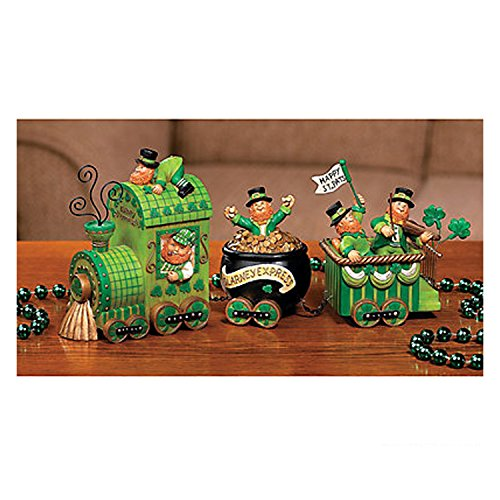 Celebrating Leprechaun Patricks Tabletop Decoration