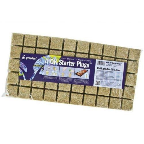 Stonewool Starter Plugs (Grodan 2