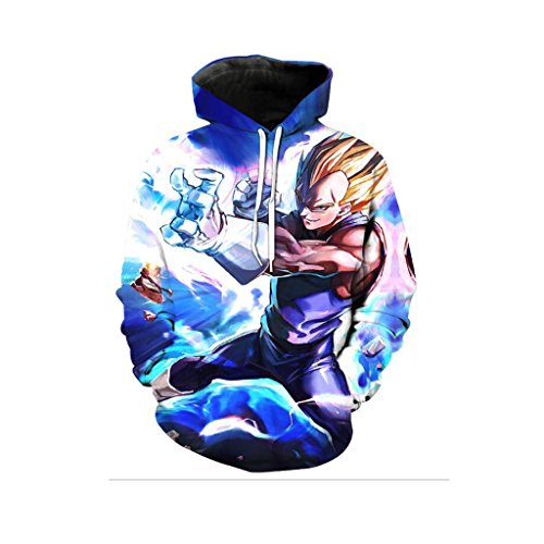 Harry Shops Halloween Holiday Dragon Ball-B2 Costume Hoodie-Male-XXX-Large (Buy Goku Halloween Costume)