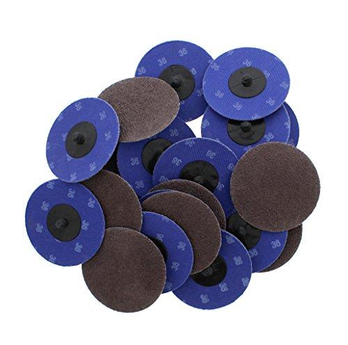 ABN Aluminum Oxide Sanding Discs 25-Pack, 3