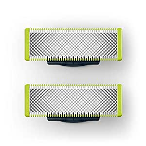 Philips OneBlade Replacement Blade for Trim, Edge & Shave, 2 Pack, Lime, QP220/50