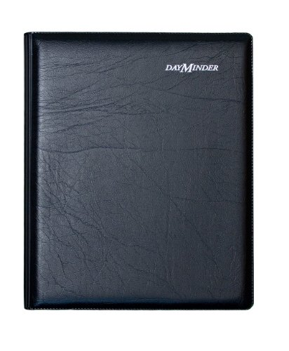 (DayMinder G54500 Executive Weekly/Monthly Planner, 6 7/8 x 8 3/4, Black, 2016)