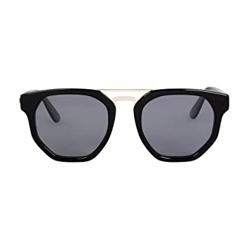 5ce9465acd3 Le Specs Men s Polarised Thunderdome Sunglasses One Size Black   Amazon.co.uk  Health   Personal Care