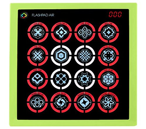 Flash Pad Air Touch - Electronic Handheld Game System (GREEN)