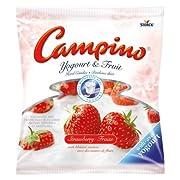 Campino Yogurt & Fruit Hard Candies - Strawberry - (120g/4.2oz)