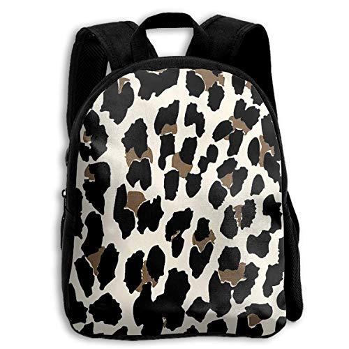 (Leopard Custom Personalized Toddler Backpacks Preschool Daybag Gift)