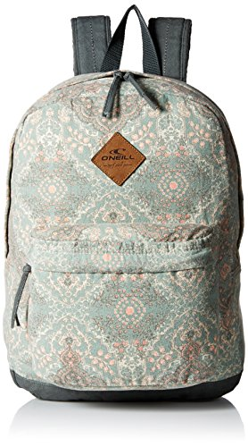 oneill-womens-juniors-shoreline-canvas-printed-backpack-sage