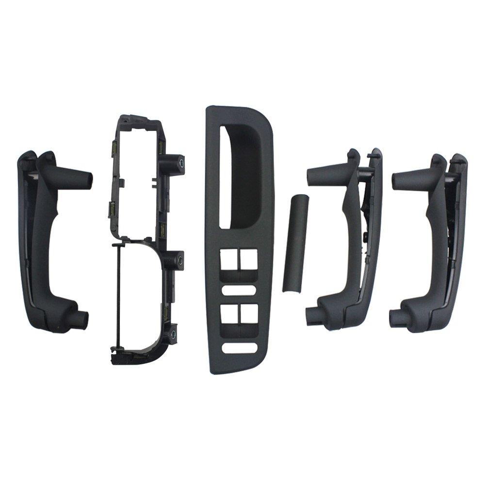 Folconroad oe# 3B0867175 6pcs Negro Manija de la puerta interior para Jetta Golf MK4: Amazon.es: Coche y moto