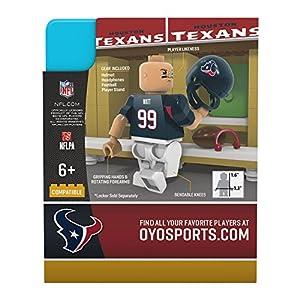 NFL Houston Texans Gen4 Limited Edition J. J. Watt Mini Figure