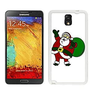 Galaxy Note 3 Case,Merry Christmas Santa Claus Black TPU Note 3 Case-Christmas Series Samsung Note 3 Case
