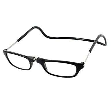 1d8d0fa89ae9 Amazon.com  Clic Magnetic Regular Size Reading Glasses in Black  Clothing