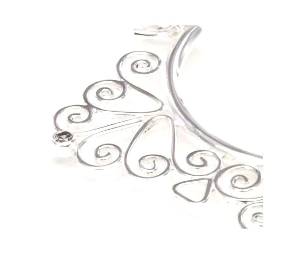 Elementals Organics 18g SILVER Indonesia Misha Style Earrings - Price Per 2