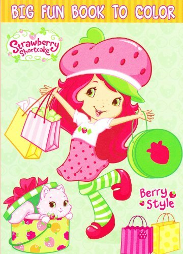 Strawberry Shortcake Coloring Book ~ 96 Pages - Strawberry Shortcake Coloring Book