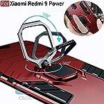 CEDO Redmi 9 Power/Poco M3 Defender Case | Rotating Ring Holder & Kickstand | Military Grade Armor Back Cover for Redmi…
