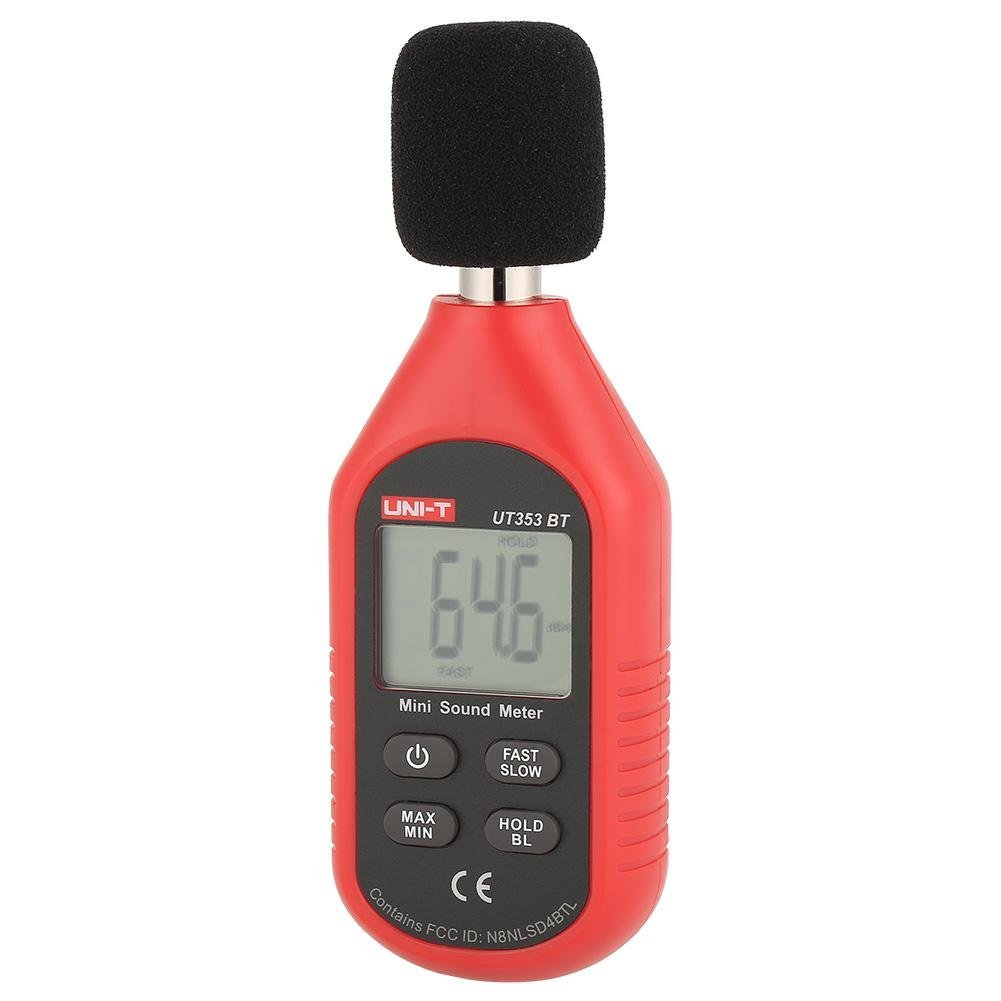 UNI-T UT353BT Sound Level Meter Digital Bluetooth Noise Meter Tester 30-130dB Monitoring Sound,with Bluetooth Function. by Hilitand (Image #1)