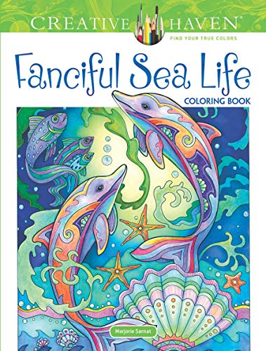 Creative Haven Fanciful Sea Life Coloring Book (Adult Coloring)