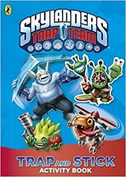 Book Skylanders Trap Team: Trap and Stick Activity Book