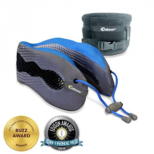 Evolution Cool Travel Pillow with 360 Head & Neck Support