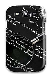 nazi diy [dvfQFDF5881MWLpH]premium Phone Case For Galaxy S3/ Death Note Tpu Case Cover